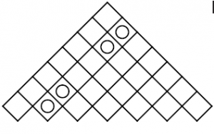 Jardin triangular acertijo geom trico acertijos y enigmas for Jardin geometrico
